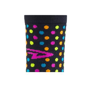 DeFeet Aireator Spotty Single-Bund Socken Schwarz